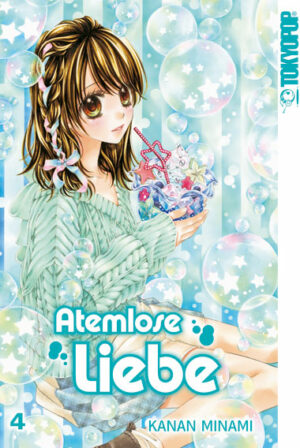TOKYOPOP Manga Cover Atemlose Liebe Band 3
